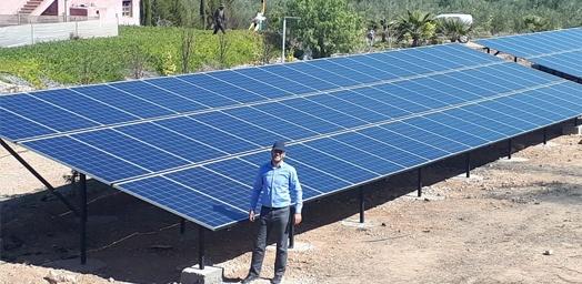 أداء الألواح الشمسية Restar بشكل جيد للغاية في أنواع مختلفة من المشاريع الشمسية في المغرب.